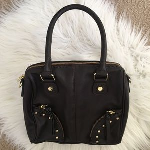 Steve Madden Brown Studded Handbag